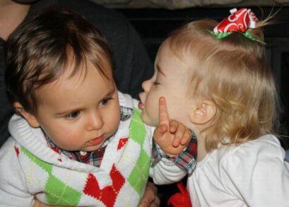 rechazar beso